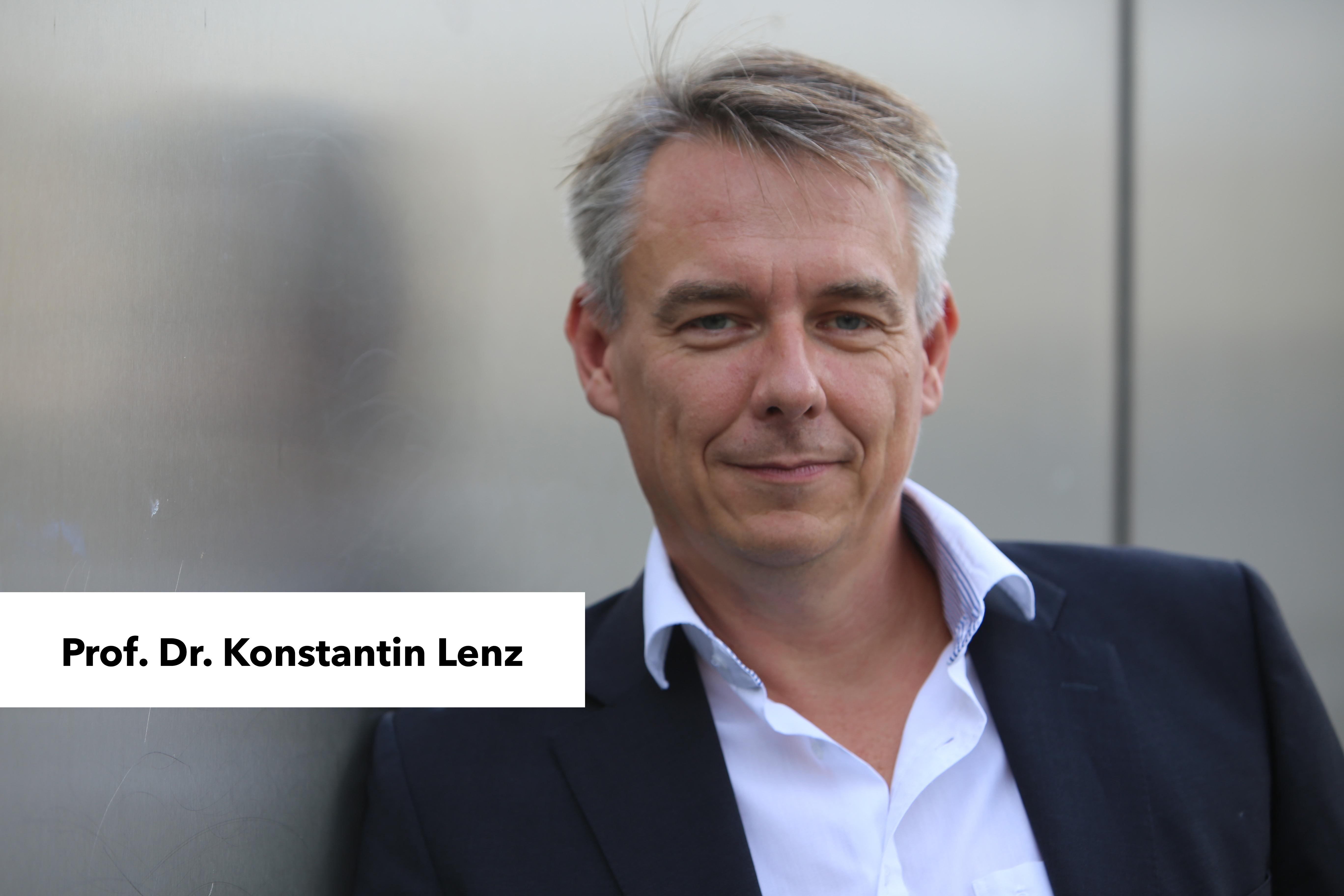 Prof. Dr. Konstantin Lenz