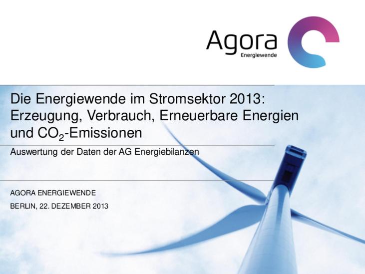 Erzeugung, Verbrauch, Erneuerbare Energien und CO2-Emissionen