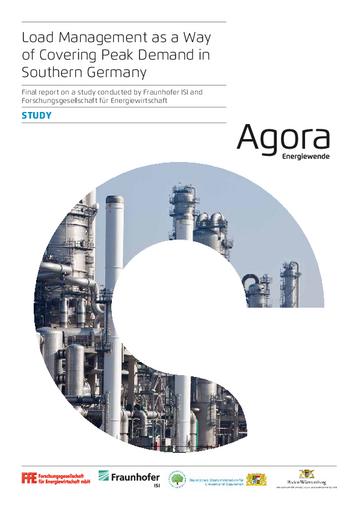 Final report on a study conducted by Fraunhofer ISI and Forschungsgesellschaft für Energiewirtschaft