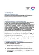 Stellungnahme zum ersten Entwurf des Netzentwicklungsplans 2014, eingereicht anlässlich der Konsultation des Netzentwicklungsplans durch die Übertragungsnetzbetreiber