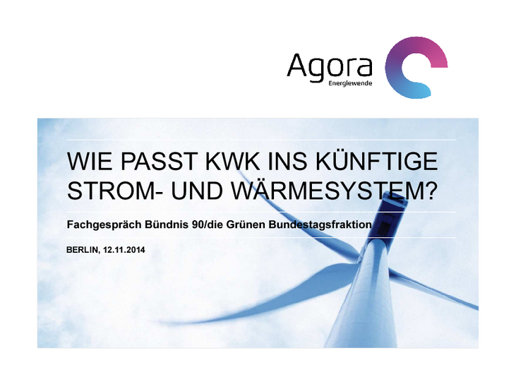 Vortrag vor der Bundestagsfraktion Bündnis 90/Die Grünen