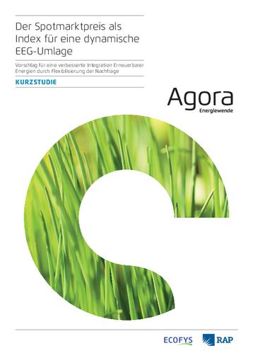 Vorschlag für eine verbesserte Integration Erneuerbarer Energien durch Flexibilisierung der Nachfrage