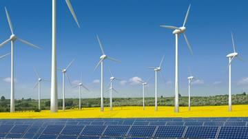 Wind- und Solaranlagen