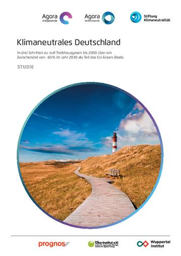 In drei Schritten zu null Treibhausgasen bis 2050 über ein Zwischenziel von -65 % im Jahr 2030 als Teil des EU-Green-Deals