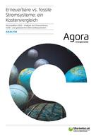 Stromwelten 2050 – Analyse von Erneuerbaren, kohle- und gasbasierten Elektrizitätssystemen