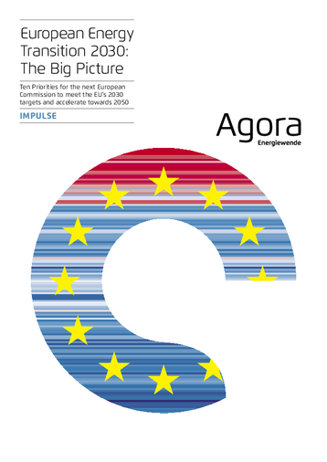 Ten Priorities for the next European Commission to meet the EU's 2030 targets and accelerate towards 2050