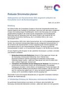 Stellungnahme zum Szenariorahmen 2025, eingereicht anlässlich der Konsultation durch die Bundesnetzagentur