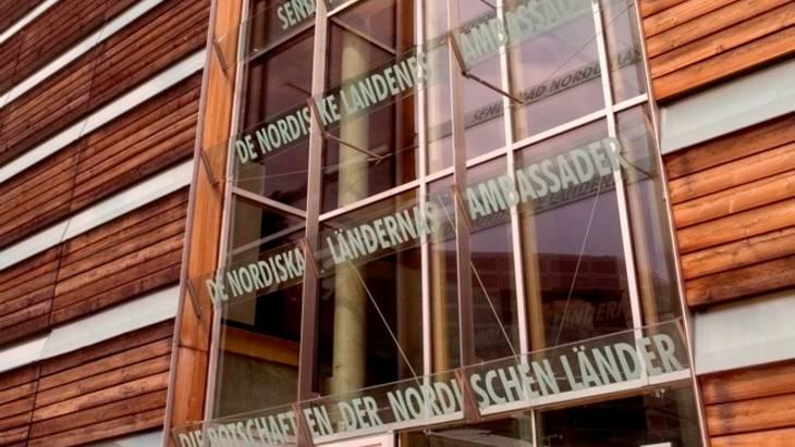 Das Felleshus der Nordischen Botschaften diente als Veranstaltungsort (Foto: Florian Bolk)